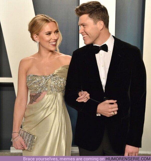 76983 - La actriz #ScarlettJohansson está embarazada y espera su segundo hijo, el primero con su pareja actual #ColinJost