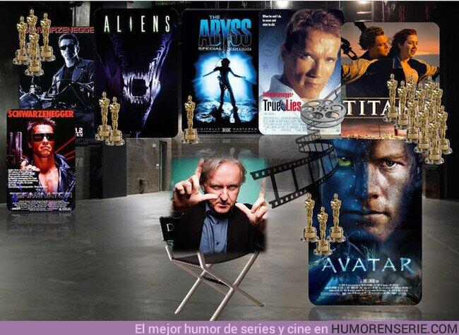 77023 - Sabias que James Cameron con una filmografia de solo 8 peliculas es el director con el mayor promedio de la historia en taquilla x pelicula: Nada menos que 800M $