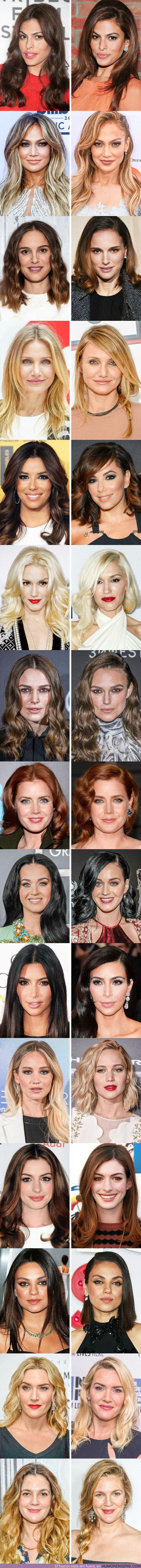 77048 - GALERÍA: 15+ Fotos de famosas que muestran que cambiar la raya de sitio puede cambiar tu aspecto por completo