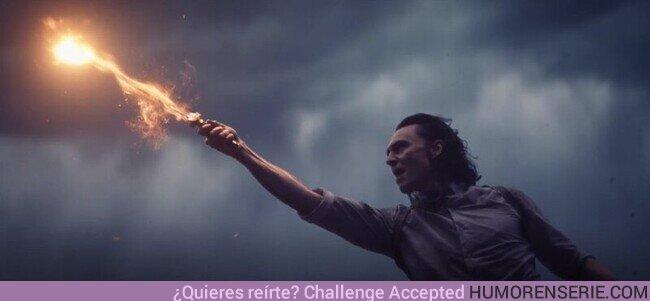 77106 - Lo mejor de la serie de Loki es cuando lanza un Expelliarmus