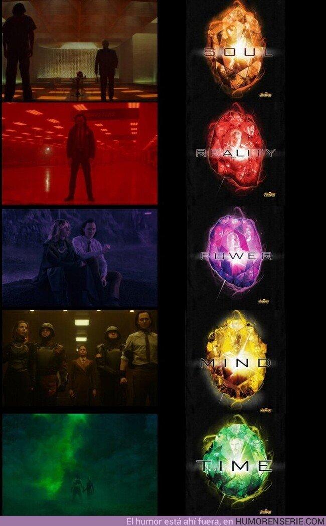 77141 - Las rimas visuales, una MARAVILLA en #Loki.