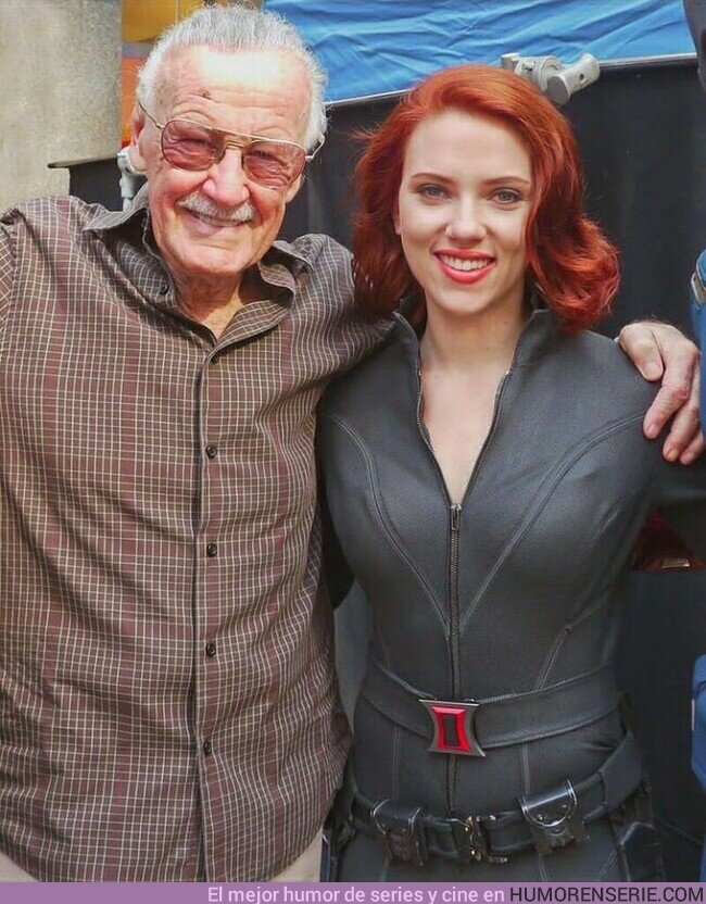 77264 - Scarlett Johansson y Stan Lee