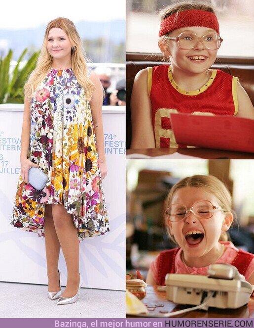 77441 - ¡Está igual! ??La actriz Abigail Breslin, que encarnó a Olive Hoover en #PequeñaMissSunshine hace 15 años