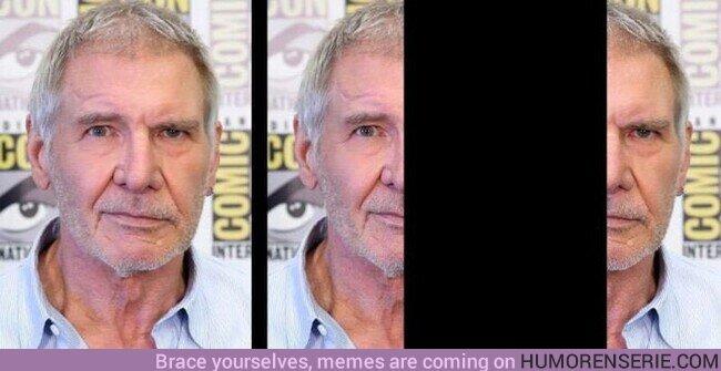 77470 - Feliz cumpleaños a Harrison Ford, el único actor que con la misma cara puede estar contento y enfadado a la vez
