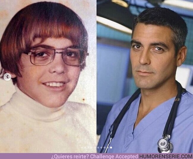 77743 - Ayer y hoy. George Clooney
