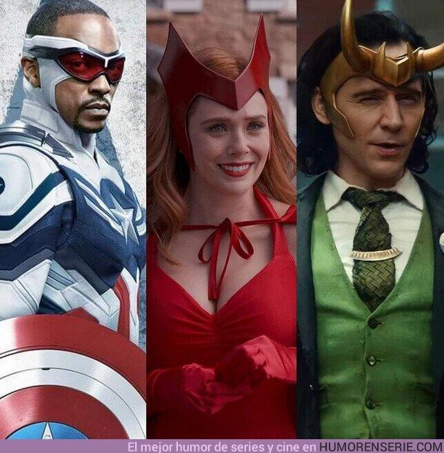 78022 - ¿Cuál serie del MCU te gustó mas? ¿Loki, Wandavision o Falcon y el Soldado de Invierno?