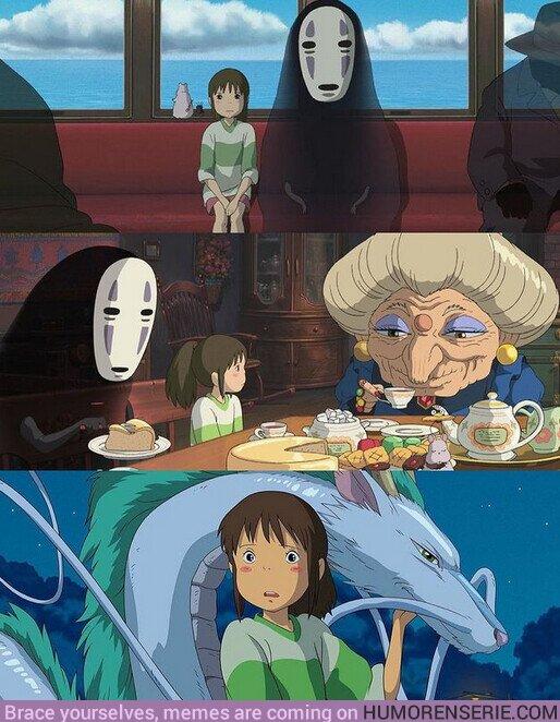 78227 - ¡Se cumplen 20 años del estreno de #ElviajedeChihiro! ¿La mejor película de Hayao Miyazaki?