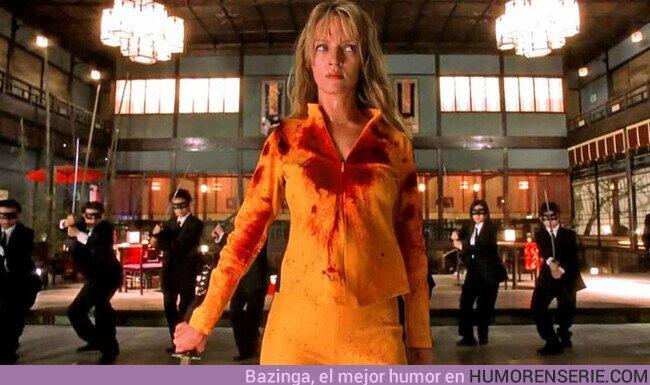 """78239 - """"Los que podáis caminar podéis iros, pero dejad vuestros miembros cercenados, ahora son míos""""Kill Bill: Volumen 1 (2003) , por @MultiversoTM"""