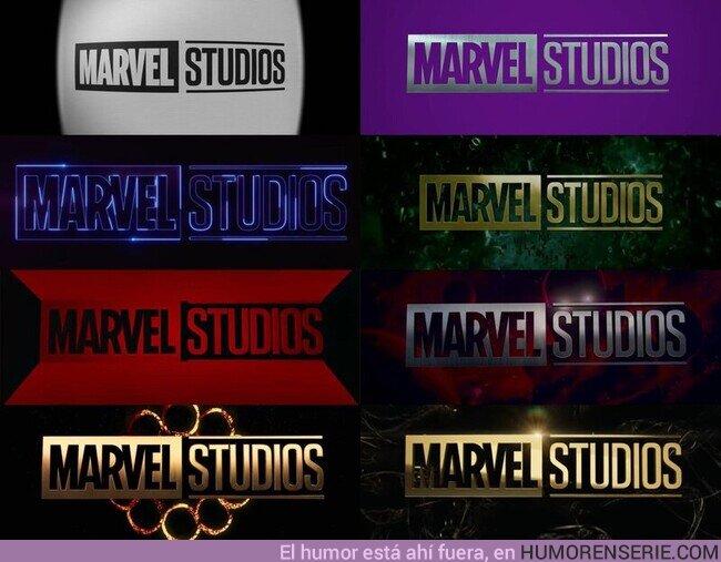 78544 - Las Variantes del logo de Marvel Studios
