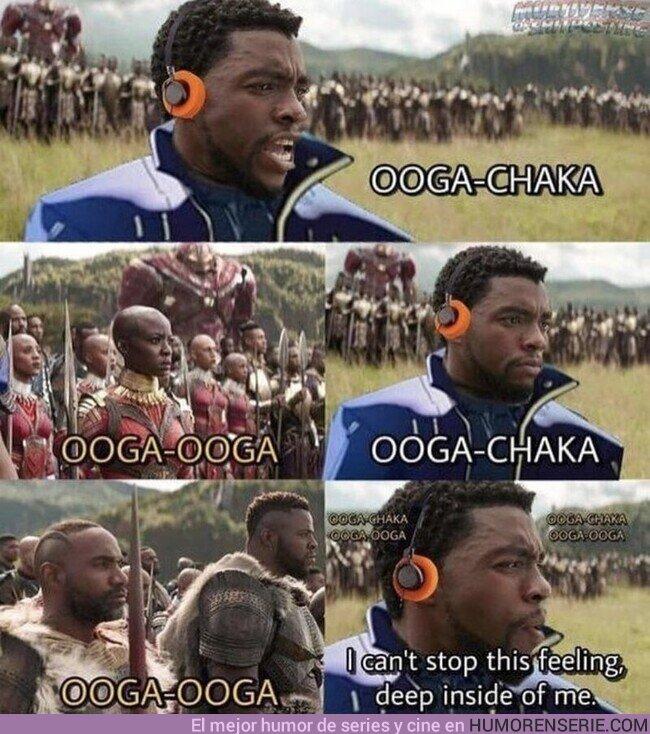 79580 - Todo Wakanda al ritmo de ChaCha
