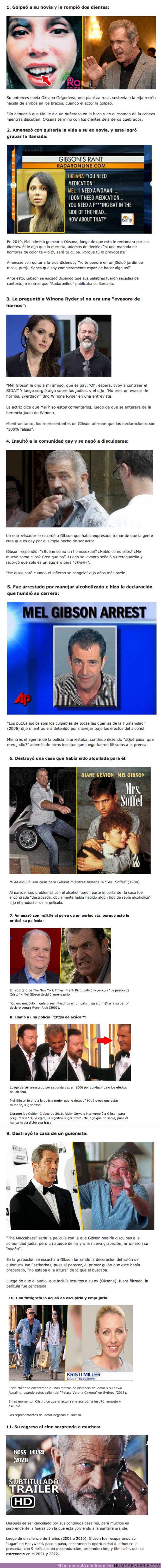 80119 - GALERÍA: 11 Escándalos que arruinaron la carrera de Mel Gibson