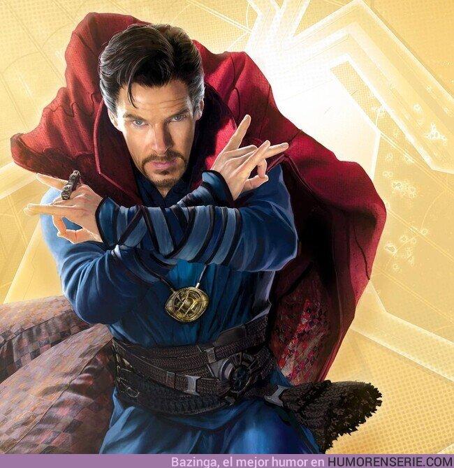 80170 - Nueva imagen promocional del Doctor Strange para Spider-Man: No Way Home
