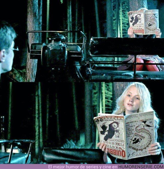 80177 - 1 de Septiembre de 1995: Harry Potter conoce a Luna Lovegood