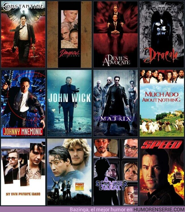 80207 - Mis 12 pelis favoritas de Keanu Reeves