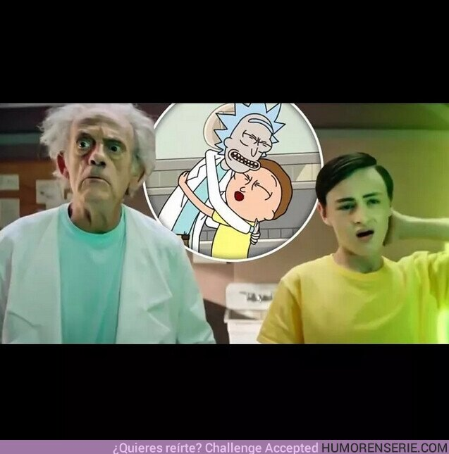 80428 - Christopher Lloyd y Jaeden Martell son 'Rick and Morty' en carne y hueso