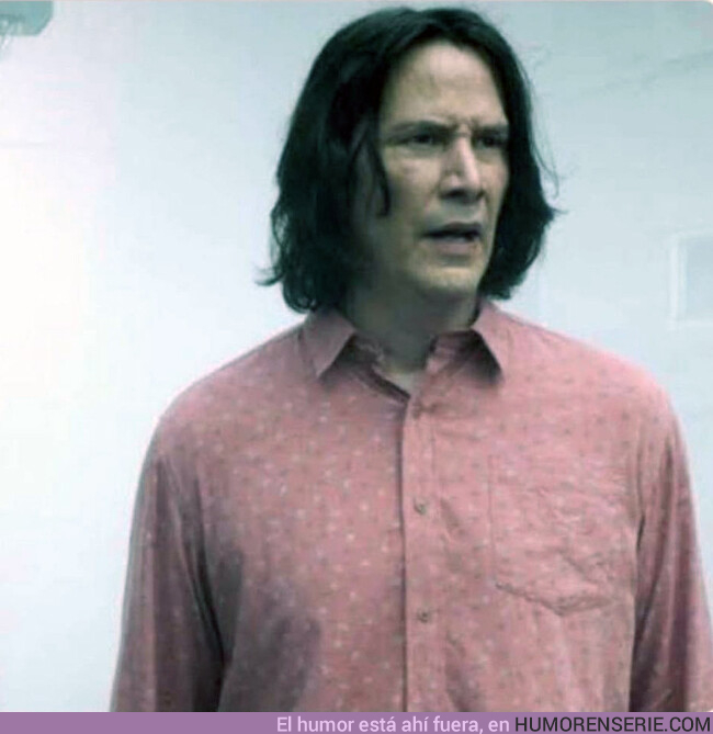80619 - Keanu Reeves afeitado parece que está a punto de quitarle 50 puntos a Gryffindor