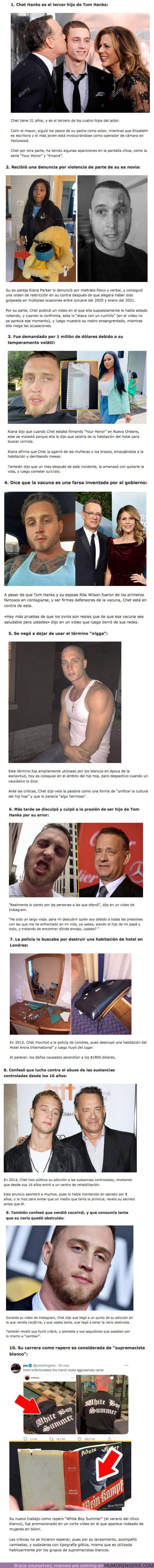 80694 - GALERÍA: 10 Curiosidades sobre el hijo problemático de Tom Hanks