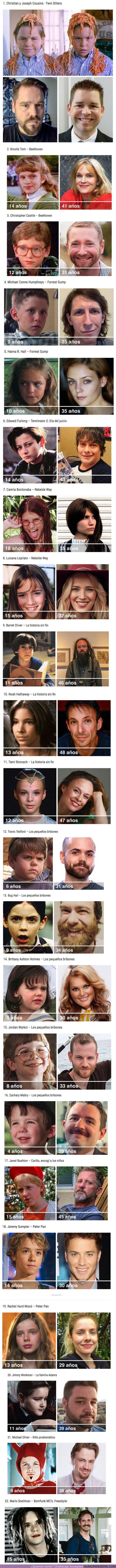 80794 - GALERÍA: Así han cambiado 22 de los niños actores más populares de Hollywood