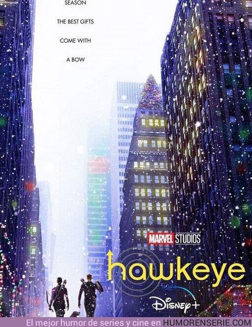 80836 - Póster oficial de Hawkeye