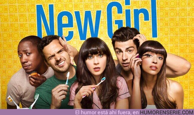 """81345 - Hoy se cumplen 10 años del estreno de la serie """"New Girl"""", feel old yet?"""