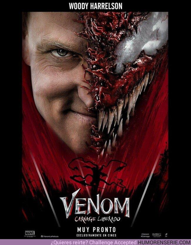 81360 - El mundo se verá rojo. Woody Harrelson protagoniza #Venom: Carnage Liberado - 7 de Octubre, exclusivamente en cines