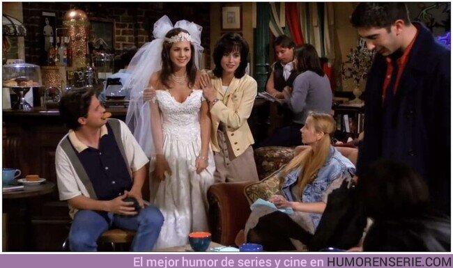 81635 - Hace 27 años una chica llamada Rachel Green entraba en el Central Perk vestida de novia y el resto es historia