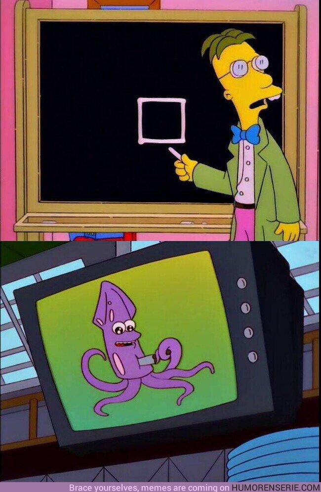 81794 - Los Simpson predijeron El Juego del Calamar, por @SimpsonitoMX