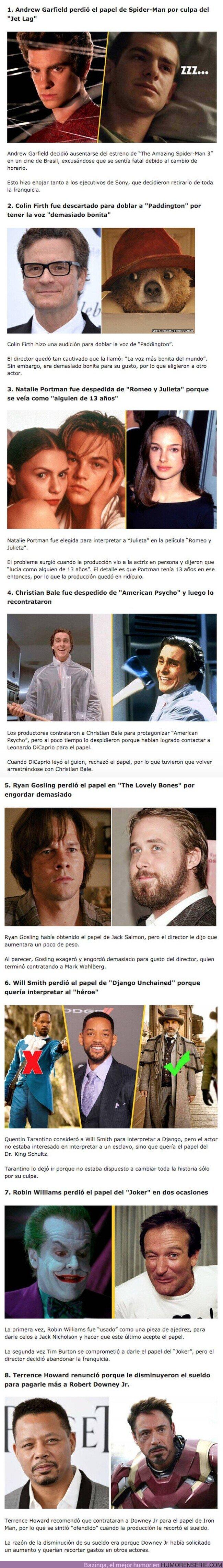 81856 - Estos ocho actores perdieron los papeles de su vida por tonterías y razones absurdas