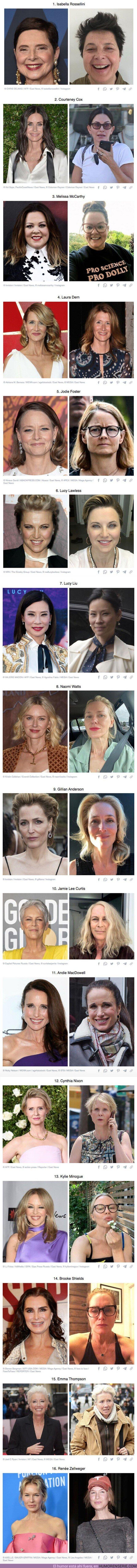 81900 - 16 actrices que deslumbran en las alfombras rojas, pero en la vida no se diferencian de la gente común, siendo una más
