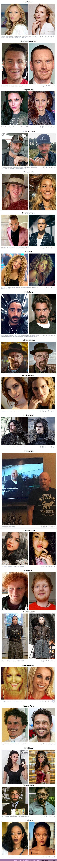82288 - GALERÍA: 20 Personas tan parecidas a un famoso que podría ser difícil distingurlos