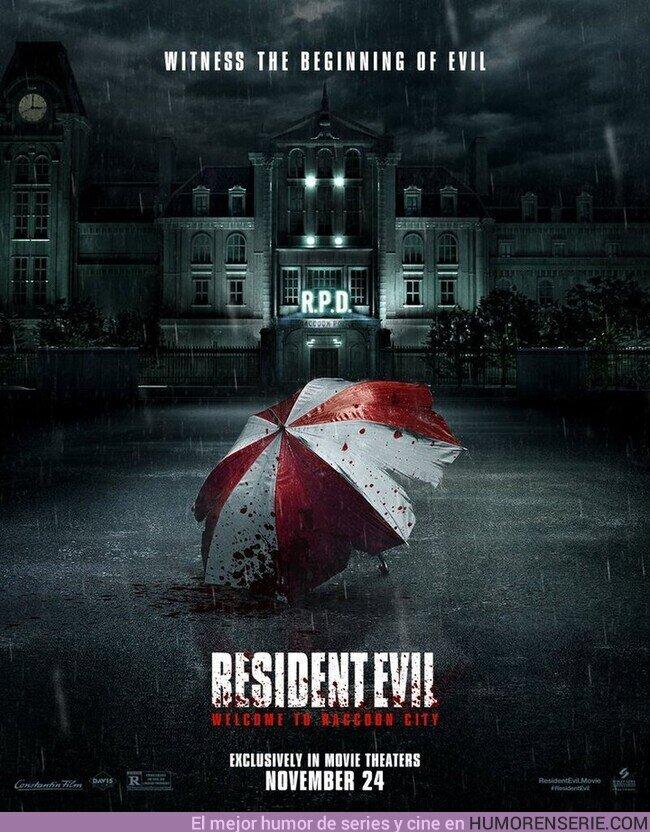 82453 - Otro póster de la película #ResidentEvil #BienvenidosARaccoonCity