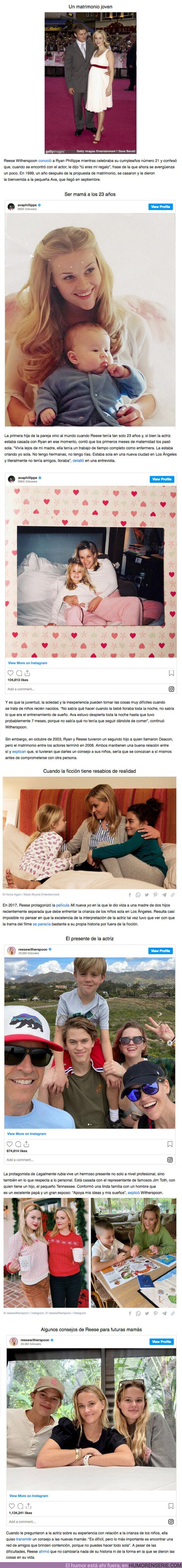 82485 - GALERÍA: Reese Witherspoon crió a su hija casi sola a pesar de estar casada y contó lo difícil que fue su experiencia