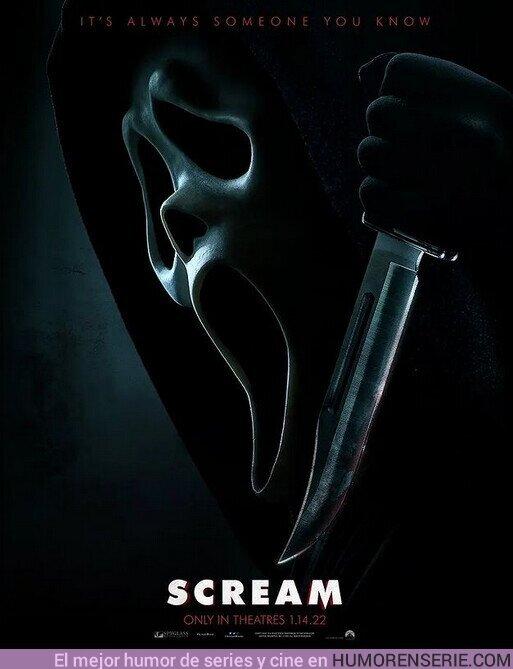 82581 - l Primer póster oficial de #Scream5, el trailer ya se filtró pero lo tendremos de forma oficial el martes