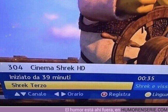 82864 - En Italia hay un canal donde solo emiten películas de Shrek, por @Fantagoria_