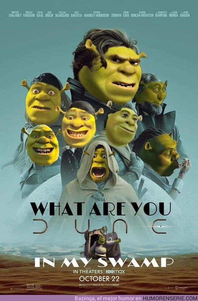 83463 -  Dune Shrek, por @sayakatcosplay