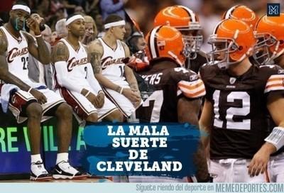 589600 - La mala suerte que ha tenido la ciudad de Cleveland con sus equipos