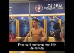 Enlace a Se filtra el emotivo discurso de CR7 al ganar la EURO 2016