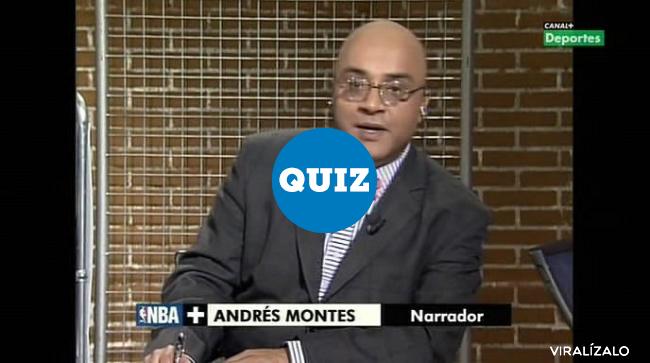 935161 - QUIZ: ¿Te acuerdas de todos los motes de Andrés Montes?