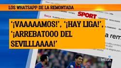 Enlace a Los jugadores del Barça trolearon a Pedrerol en whatsapp tras la derrota del Madrid en Sevilla