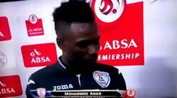 Enlace a Mohammed Anas dedica el premio Man of the Match a su mujer... ¡y a su novia!