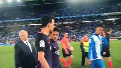 Enlace a El extravagante saludo entre Neymar y Leo Baptistao