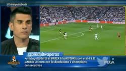 Enlace a El gesto de Cristiano Ronaldo tras marcar hat-trick ante el Atlético de Madrid