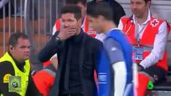 Enlace a REVELADO | Esto le dijo Simeone a Morata cuando salió a calentar en el derbi