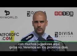 Enlace a La reacción de Guardiola al fichaje de Vinicius por el Real Madrid
