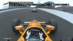 Enlace a Así se colocaba Fernando Alonso líder en Indianapolis por primera vez