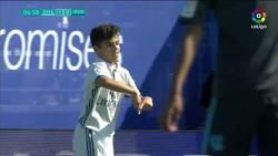 Enlace a El golazo de Marcos (Juvenil del Real Madrid) al estilo Cristiano Ronaldo