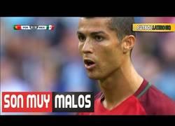 Enlace a MUY FUERTE: Cristiano Ronaldo llama