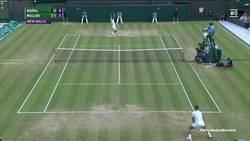 Enlace a El puntazo del torneo entre Nadal y Muller