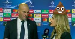 Enlace a El zasca de Zidane a Susana Guasch es de proporciones épicas