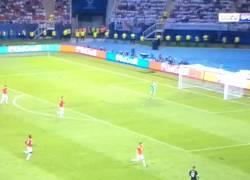Enlace a ¡Qué jugadón de Lucas Vázquez en el área del United!